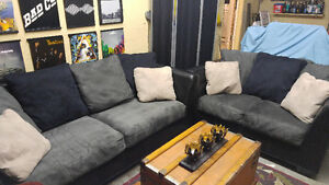 Ashley Couch and Loveseat