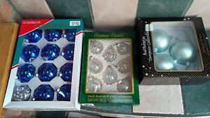 BOXES OF GLASS ORNAMENTS Windsor Region Ontario image 2