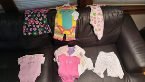 3months and 3-6month girls clothes