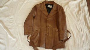Ladies Leather Coat Peterborough Peterborough Area image 1