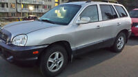 2002 Santa Fe - for whole or parts