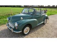 1958 Morris Minor convertible Convertible Petrol Manual