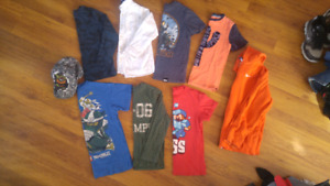 Size 7-8boys shirts 10$