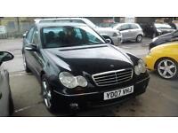 Mercedes-Benz C320 3.0TD CDI 7G-Tronic Avantgarde SE 4 DOOR - 2007 07-REG -