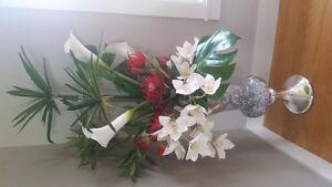Vase de fleurs decoratif