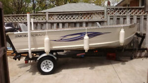 Smoker craft boat