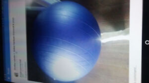 Purple Exercise Ball in good Condition
