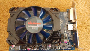 Diamond R7 250 OC 1GB GDDR5 PCI-E Video Card, $40obo
