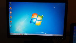 """Used 20"""" Wide Screen Dell LCD Computer Monitor for Sale"""