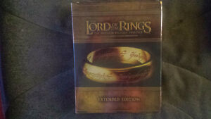 The Lord of the rings Trilogy Extended Edition NOUVEAU PRIX