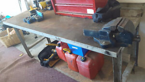 Metal Work Bench FOR SALE