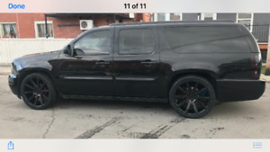 2008 YUKON DENALI XL BLACK ON BLACK!!LOTS OF UPGRADES!!!