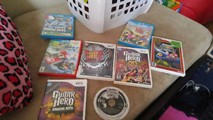 Nintendo wii U and games