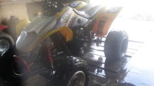 400ex avec moteur Yam  4cyl.