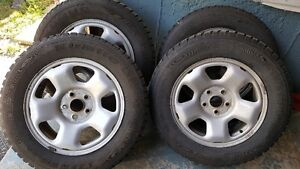 17 x 7 ET50  , 235/65R17 Winter Tires and Steel RIMS