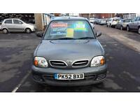 2002 NISSAN MICRA 1.0 Twister Automatic 3 Door From GBP2,195 + Retail Package