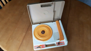 Vintage Fisher Price Record Player Turntable