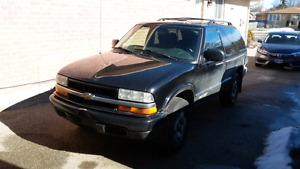 2004 Chevrolet Blazer 1000$ OBO AS IS