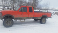 1997 F-250 Runs ok. Solid Axle Swapped, manual