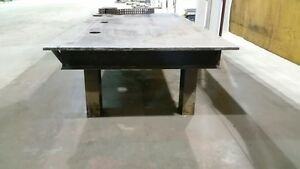 Steel Table 5' x10' Prince George British Columbia image 3