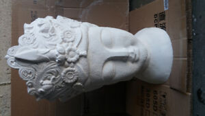 Solid Cement Statue heads