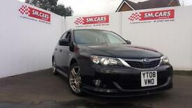 2008 08 SUBARU IMPREZA 2.0 RX . WRX LOOKS . FULL SUBARU S/H.STUNNING LOOKING CAR