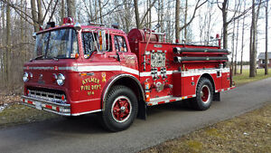 1972 King Ford Cab Over Fire Truck