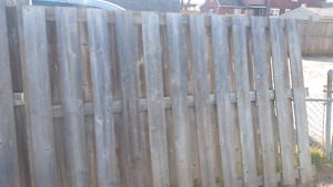 Good condition fence
