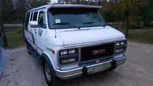 92' GMC vandura, very clean, 205000 km