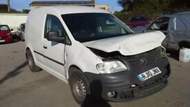 2010 Volkswagen Caddy 1.9TDI PD ( 104PS ) C20 DAMAGED SPARES OR REPAIR SALVAGE
