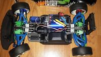 RC Traxxas Rally 1:16 with load