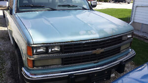 1989 Chevrolet Stepside 4x4 Project Truck