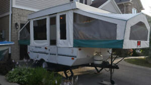 Rockwood Freedom 10 ft tent trailer great condition