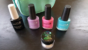 nail Polishes with a bag
