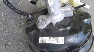 A4 B7 Complete Power Brake Booster West Island Greater Montréal image 2