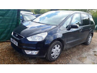 Ford Galaxy 2.0TDCi Diesel Auto 7 Seater PCO Registered