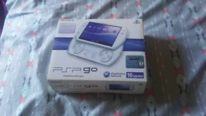 White cib psp go bundle trade for cib  ps vita