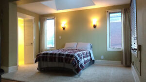 FULLY FURNISHED MASTER BEDROOM IN CLEAN, QUIET HOME. ALL INCL.