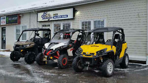 Come see Mark Gallant, our CanAm Certified PowerSports Mechanic