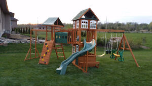 Professional Play Structure Installation