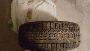 Selling 4 Winter Tires with MERCEDES BENZ Rims