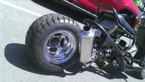 Mojo GY6 Center Shock Weld on Mount - Honda Ruckus Swap