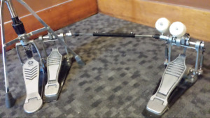 Yamaha  hi hat and double pedal