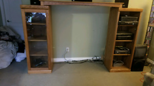 TV entertainment stand.