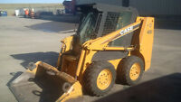 SkidSteer SAME DAY  Bobcat Post holes Grading