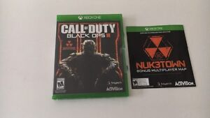 Jeux xbox one COD Black ops 3