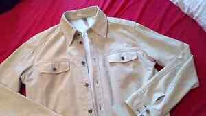 REDUCED!!!Danier Leather very rare leather shirt 50.00 xl