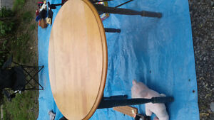 Round table and side table for sale