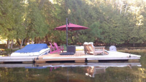 Cottage is located in a secluded bay on Jack lake
