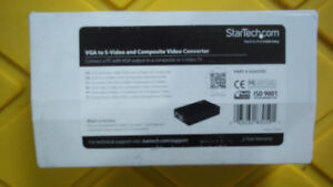 StarTech.Com VGA to S-Video and Composite Converter